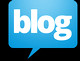 blog logo black