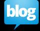 blog logo black